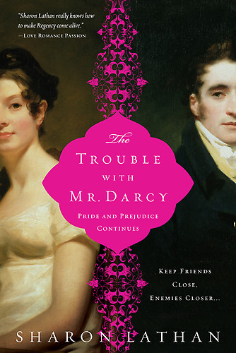 обложка книги The Trouble with Mr. Darcy