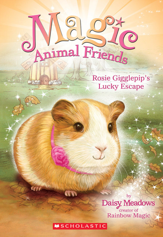 обложка книги Rosie Gigglepip's Lucky Escape
