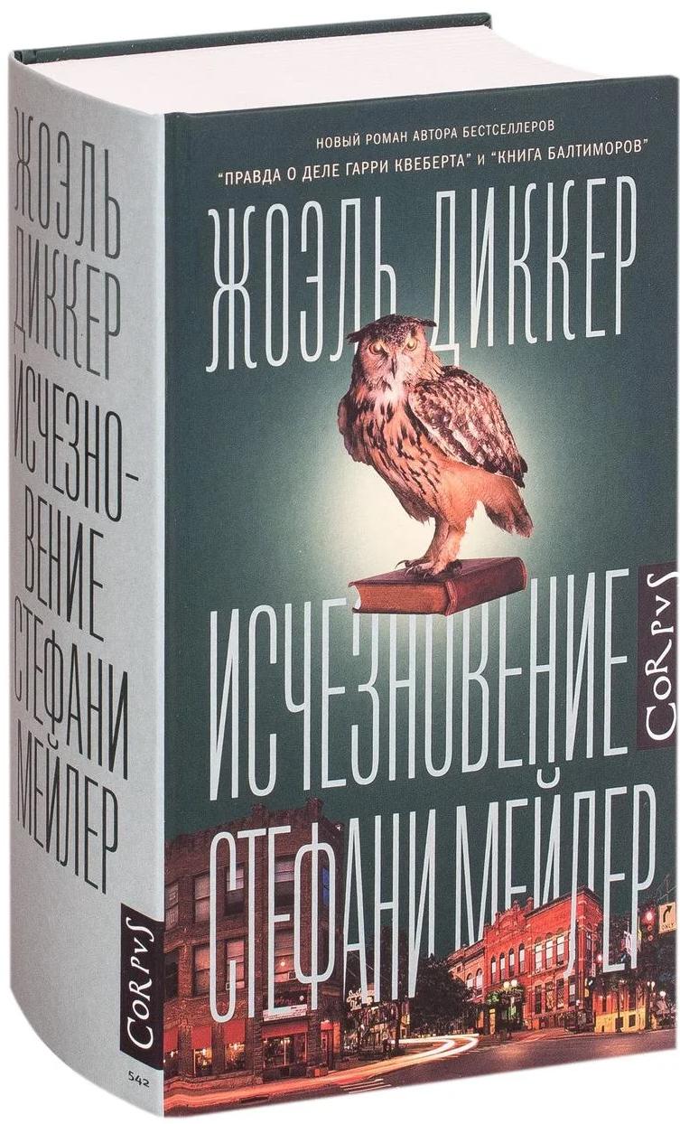 Исчезновение Стефани Мейлер — Жоэль Диккер