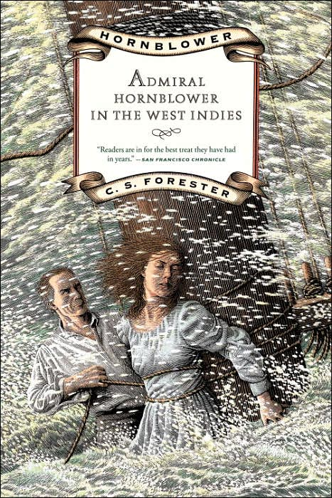 обложка книги Hornblower in the West Indies