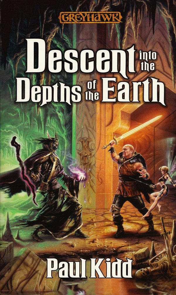 обложка книги Descent into the Depths of the Earth