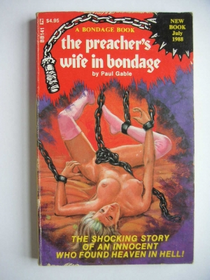 обложка книги The preacher_s wife in bondage