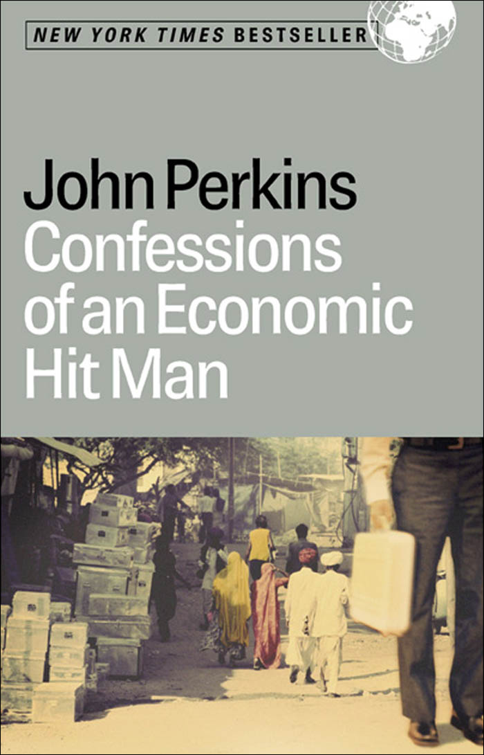 обложка книги Confessions of an Economic Hit Man
