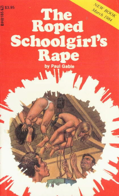 обложка книги The roped schoolgirl_s rape