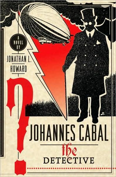 обложка книги Johannes Cabal the Detective