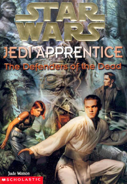 обложка книги Jedi Apprentice 5: The Defenders of the Dead