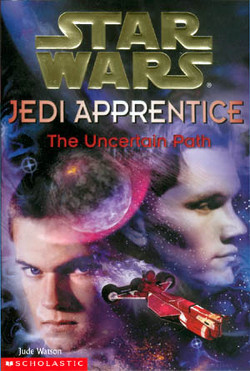 обложка книги Jedi Apprentice 6: The Uncertain Path