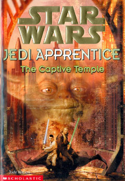 обложка книги Jedi Apprentice 7: The Captive Temple
