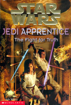 обложка книги Jedi Apprentice 9: The Fight for Truth