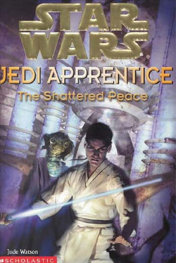 обложка книги Jedi Apprentice 10: The Shattered Peace