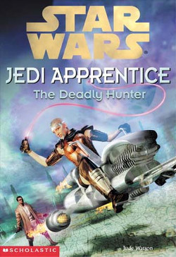 обложка книги Jedi Apprentice 11: The Deadly Hunter