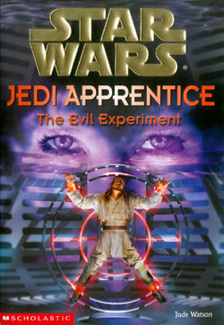 обложка книги Jedi Apprentice 12: The Evil Experiment