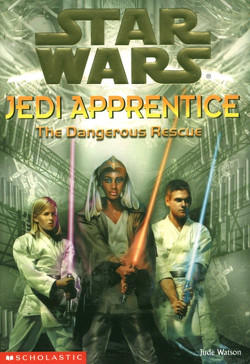 обложка книги Jedi Apprentice 13: The Dangerous Rescue