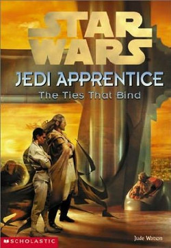 обложка книги Jedi Apprentice 14: The Ties That Bind
