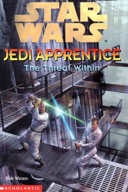 обложка книги Jedi Apprentice 18: The Threat Within