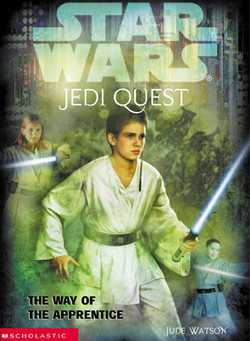 обложка книги Jedi Quest 1: The Way of the Apprentice