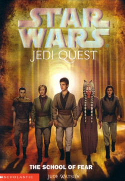 обложка книги Jedi Quest 5: The School of Fear