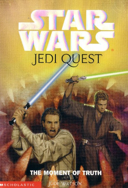 обложка книги Jedi Quest 7: The Moment of Truth