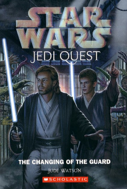 обложка книги Jedi Quest 8: The Changing of the Guard