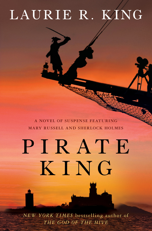 обложка книги Pirate King: A novel of suspense featuring Mary Russell and Sherlock Holmes