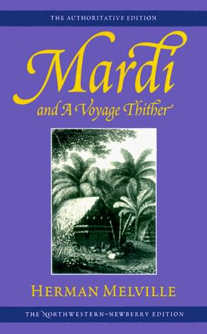 обложка книги Mardi and a Voyage Thither