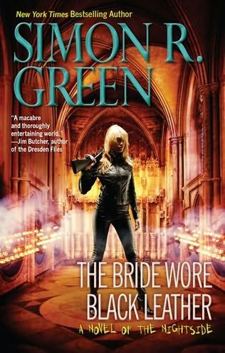 обложка книги The Bride Wore Black Leather