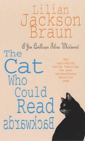 обложка книги The Cat Who Could Read Backwards