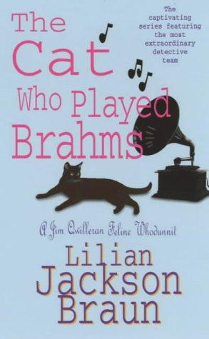 обложка книги The Cat Who Played Brahms