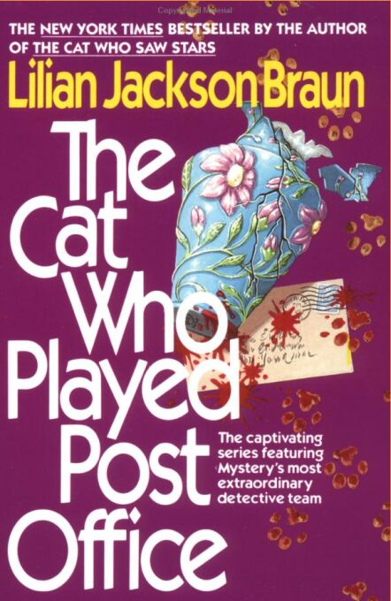 обложка книги The Cat Who Played Post Office