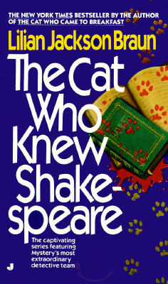обложка книги The Cat Who Knew Shakespeare