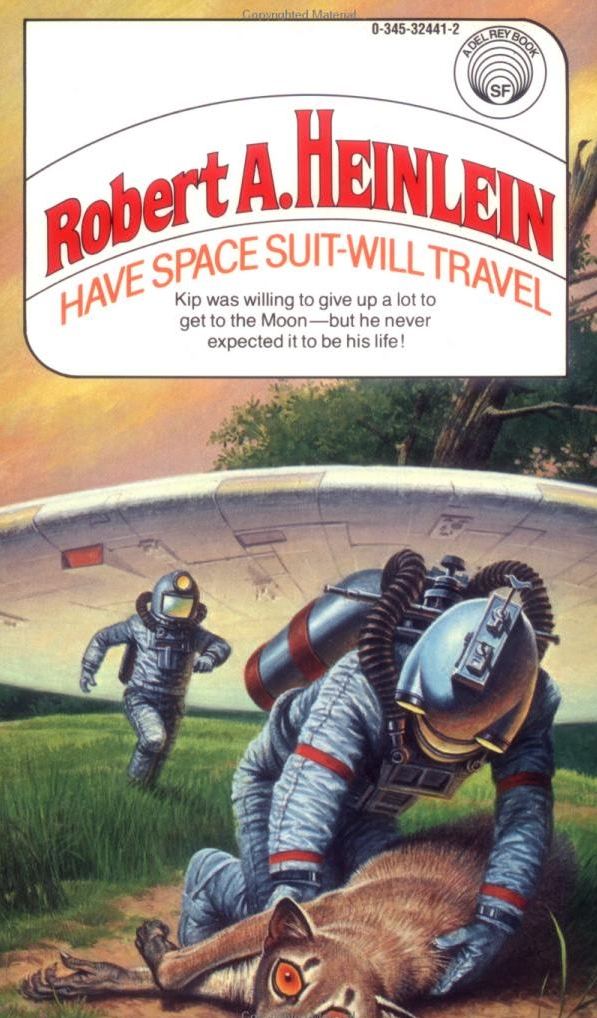 обложка книги Have Space Suit - Will Travel