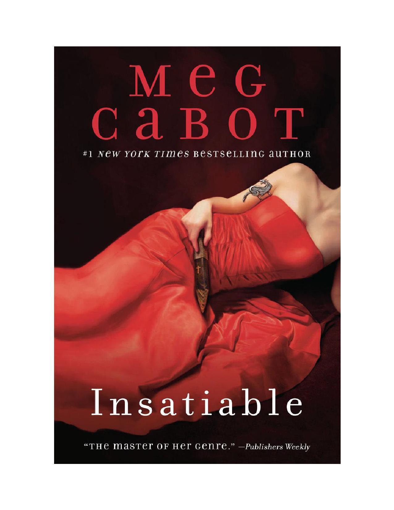 Изображение к книге Insatiable