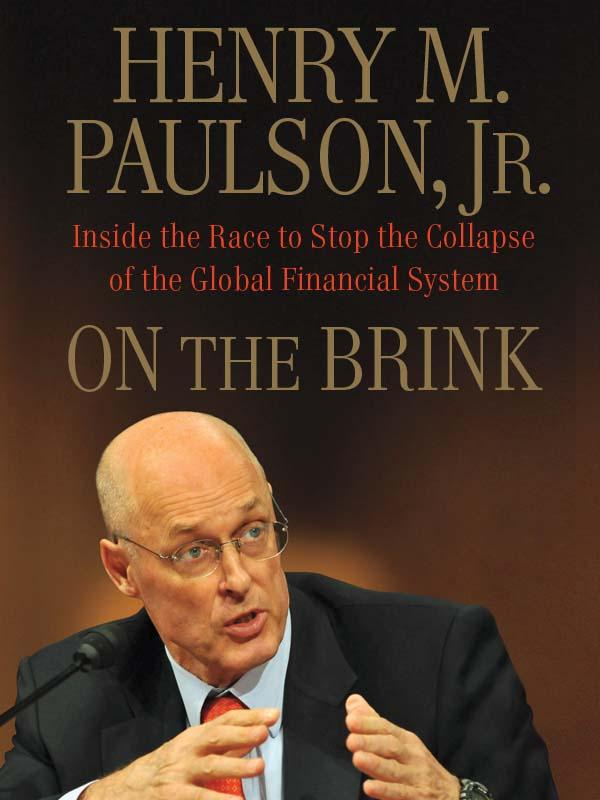 обложка книги On the Brink: Inside the Race to Stop the Collapse of the Global Financial System