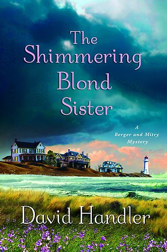 обложка книги The shimmering blond sister