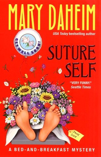 обложка книги Suture Self : A Bed-and-breakfast Mystery
