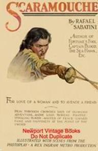Изображение к книге Scaramouche