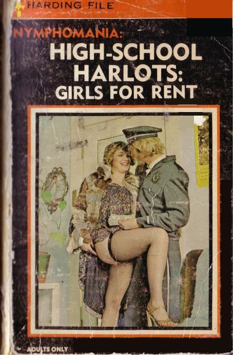 обложка книги High school harlots: girls for rent