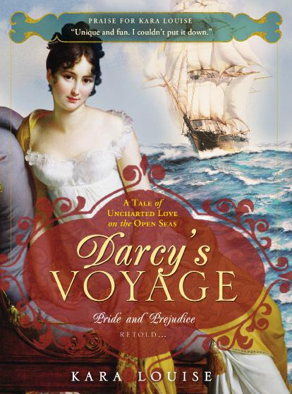 обложка книги Darcy's Voyage: A tale of uncharted love on the open seas