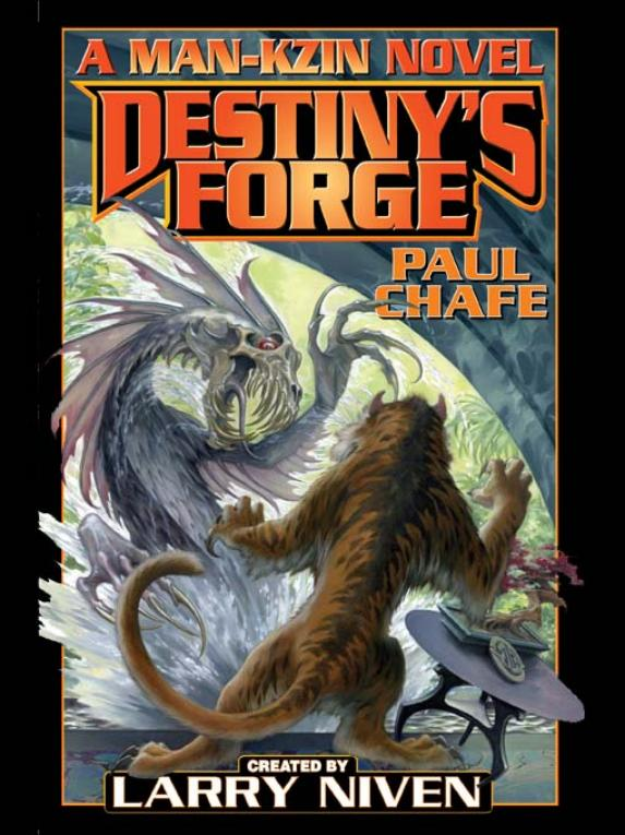 обложка книги Destiny's Forge-A Man-Kzin War Novel