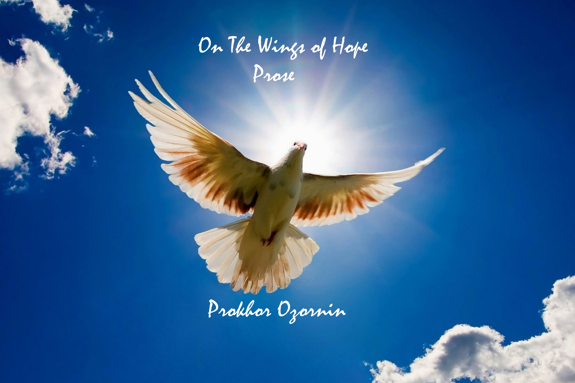 обложка книги On The Wings of Hope. Prose