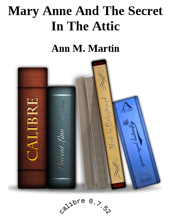 обложка книги Mary Anne And The Secret In The Attic