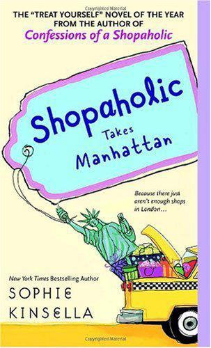 обложка книги Shopaholic Takes Manhattan