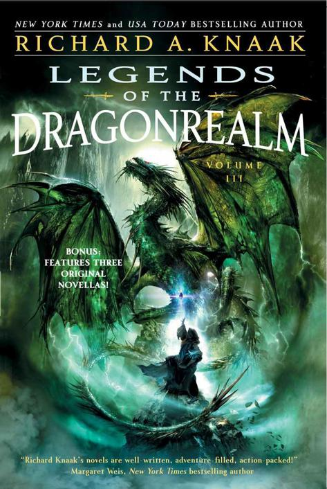 обложка книги Legends of the Dragonrealm, Vol. III