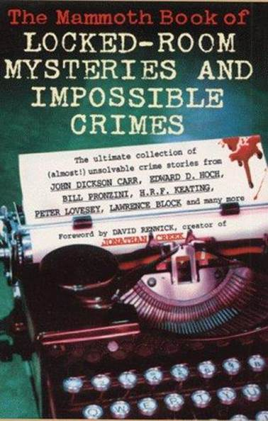 обложка книги The Mammoth Book of Locked-Room Mysteries And Impossible Crimes