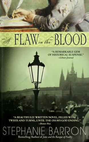 обложка книги A Flaw in the Blood