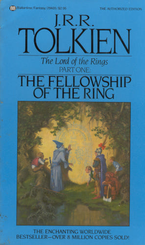 обложка книги Lord of the Rings 1 - The Fellowship of The Ring