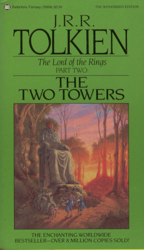 обложка книги The Lord of the Rings 2 - The Two Towers