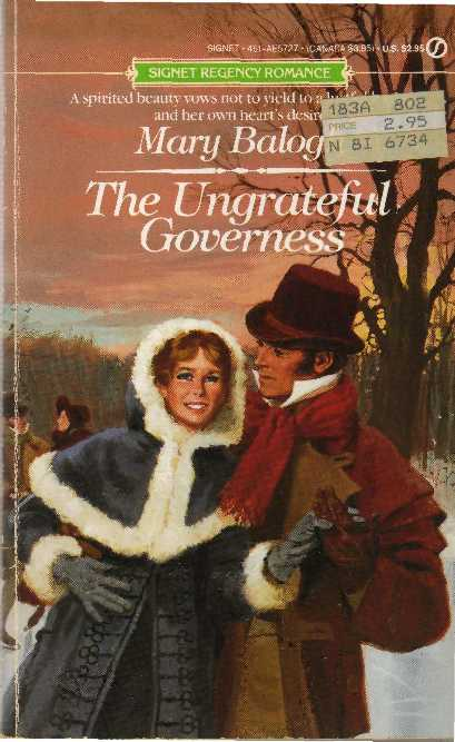 обложка книги The Ungrateful Governness
