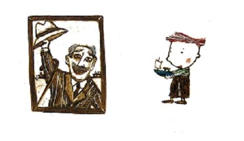 Изображение к книге А дедушка в костюме?