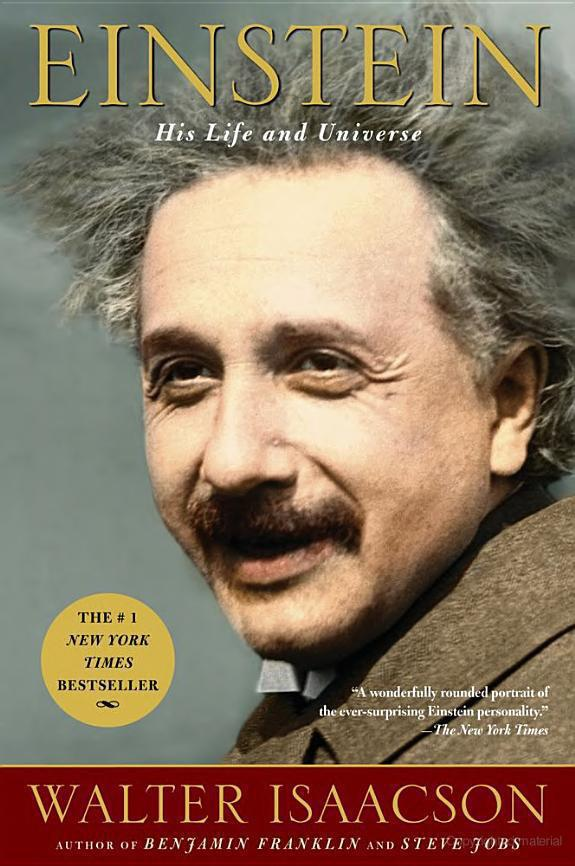 обложка книги Einstein: His Life and Universe